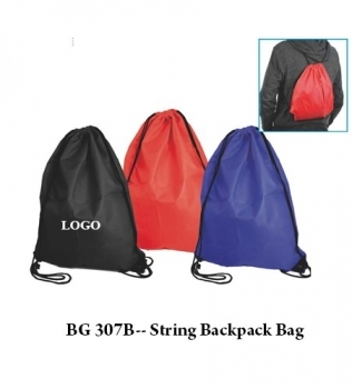 BG 307B — String Backpack Bag