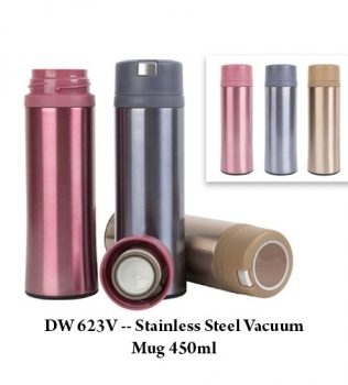 DW 623V — Stainless Steel Vacuum Mug 450ml