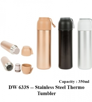 DW 633S — Stainless Steel Thermo Tumbler