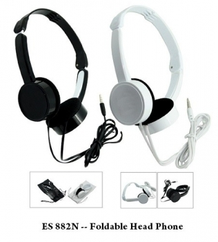 ES 882N — Foldable Head Phone