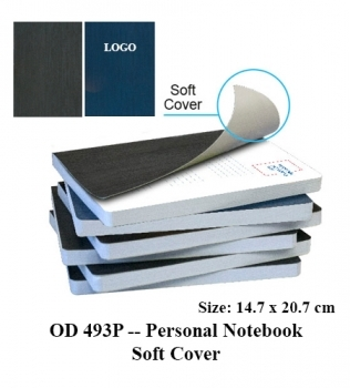 OD 493P — Personal Notebook Soft Cover