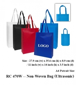 RC 470W — Non-Woven Bag (Ultrasonic)