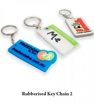 Rubberised Key Chain 2
