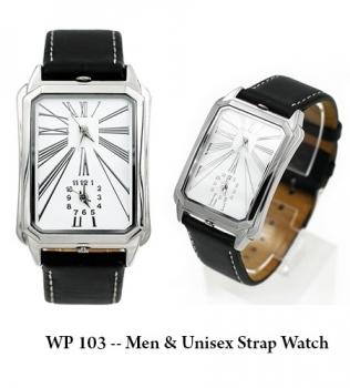 WP 103 — Men & Unisex Strap Watch