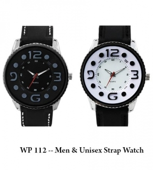 WP 112 — Men & Unisex Strap Watch